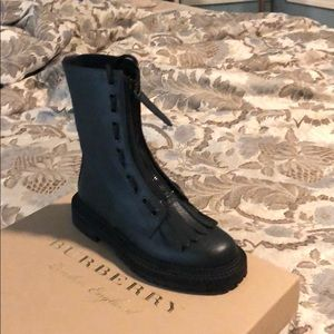Burberry Military Boots